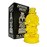 Modern Hero Yellow Edition Figure Bank by MAD