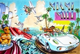 "Mark Bode ""Miami Mice"" Poster"