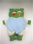 "Meanatoad 12"" Designer Plush Figure Green Villain Monster Frombie Comics"