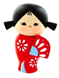 'HAPPY HAPPY HAPPY' Momiji Designer Resin Doll by Luli Bunny