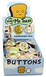 The World Of Mr Toast Button Box 120 Pins