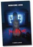 2010 Nerdcore Wall Calendar: Horror