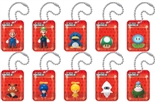 Nintendo Super Mario Wii Figures in a Blister Danglers Set of 10 Official Product From Nintendo