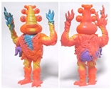 Lorbo Orange Version Kaiju Designer Vinyl Figure by Jim Woodring
