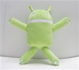 "Ganndroid 6"" Plush with Suction Cups by Gann Memorials"
