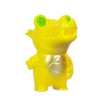 Pocket Mummy Gator YELLOW Edition Kaiju Designer Vinyl Figure by Brian Flynn and produced by Super7