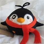 'Argh' Red Scarf Series 2 Pygmy Penguin Plush Figure