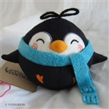 'Beam' Blue Scarf Series 2 Pygmy Penguin Plush Figure