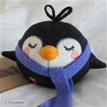 'NomNom' Purple Scarf Series 2 Pygmy Penguin Plush Figure