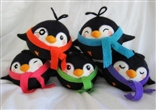 Set of All 5 Series 2 Pygmy Penguin Plush Figures