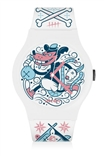 KRONK 'Rat Basterd' White Edition Vannen Watch