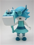 Robo Zora Aqua Edition Resin Figure by Frombie artist Jacky Chan