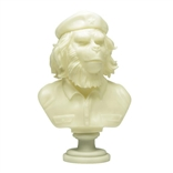 Rebel Ape Bust Olive Green Edition Designer Vinyl Figure