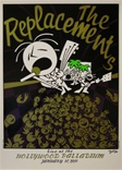 The Replacements Concert Poster