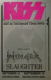 KISS Concerts Poster - Long Beach / San Diego