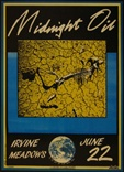 Midnight Oil Concert Poster - Forum