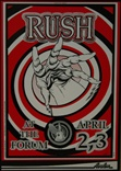 Rush Concert Poster - Forum