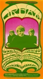 Cream at the Grande Ballroom Poster - Gary Grimshaw