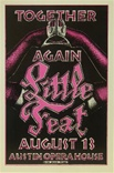 Little Feat Concert Poster
