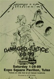Metallica Damaged Justice Poster