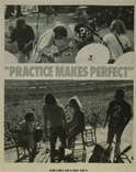 Practice Makes Perfect Concert Poster - Crosby, Stills, Nash, and Young