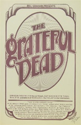 The Grateful Dead Concert Poster - Randy Tuten