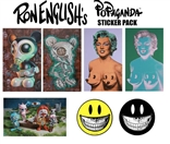 Ron English Popaganda Sticker Pack