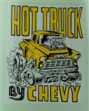 "Ed ""Big Daddy"" Roth Hot Truck By Chevy Original 1968 Decal Sticker"