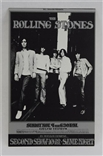 The Rolling Stones Original Bill Graham Postcard Randy Tuten Mint!