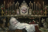 Awakening the Moon Print - Mark Ryden