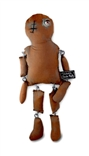 Baby Castaway Brown Plush Figure by Glenda Rolle