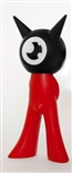 Sataniki Black / Red Freak Family Bicolor Edition Vinyl Figure Von Murr