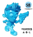 "Uncharted Nathan Drake ""Scarecrow Blue"" Colorway Vinyl Figure by Erick Scarecrow"