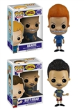 Set Of 2 Beavis and Butt-Funko Pop Designer Vinyl Figures Gizmo & Gremlin