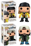 Set Of 2 Jay & Silent Bob Funko Pop Designer Vinyl Figures
