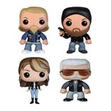 Set Of 4 Sons of Anarchy Funko Pop Vinyl Figures