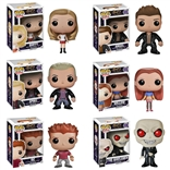 Funko Pop Set of 6 Buffy The Vampire Slayer: Buffy, Willow, Angel, Regular Spike, the Gentleman, and Oz