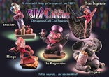 Sikk at the Circus - Full Set of All 5