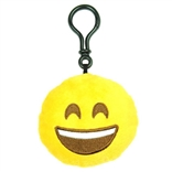 "Smile Emoji Throwbaby 3"" Plush Clip-On Keychain By Throwboy"