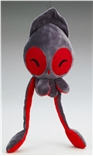 LARGE Happy Grey Squib Plush by Squib Kid Ink