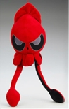 LARGE Grumpy Red Squib Plush by Squib Kid Ink