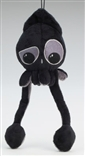 MINI Confused Black Squib Plush by Squib Kid Ink