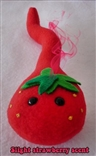 Strawberry Sperm Designer Plush Figure Shane Geil Purple Flavor