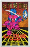 Taz Faith No More Silkscreen Rock Concert Poster Signed Numbered Kyuss