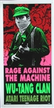 Taz Rage Against The Machine Wu-Tang Clan Silkscreen Poster Signed Numbered Mint