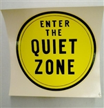 "Ed ""Big Daddy"" Roth Enter The Quiet Zone Original 1960'S Decal Sticker"