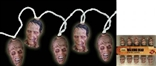 The Walking Dead Zombie Head String Lights