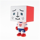 "England To-Fu World Cup Football 2"" Designer Vinyl Figure by Devilrobots"