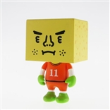 "Netherlands To-Fu World Cup Football 2"" Designer Vinyl Figure by Devilrobots"