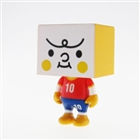 "South Korea To-Fu World Cup Football 2"" Designer Vinyl Figure by Devilrobots"